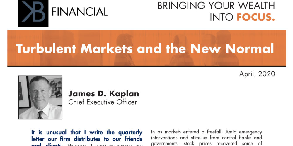 Turbulent Markets And The New Normal